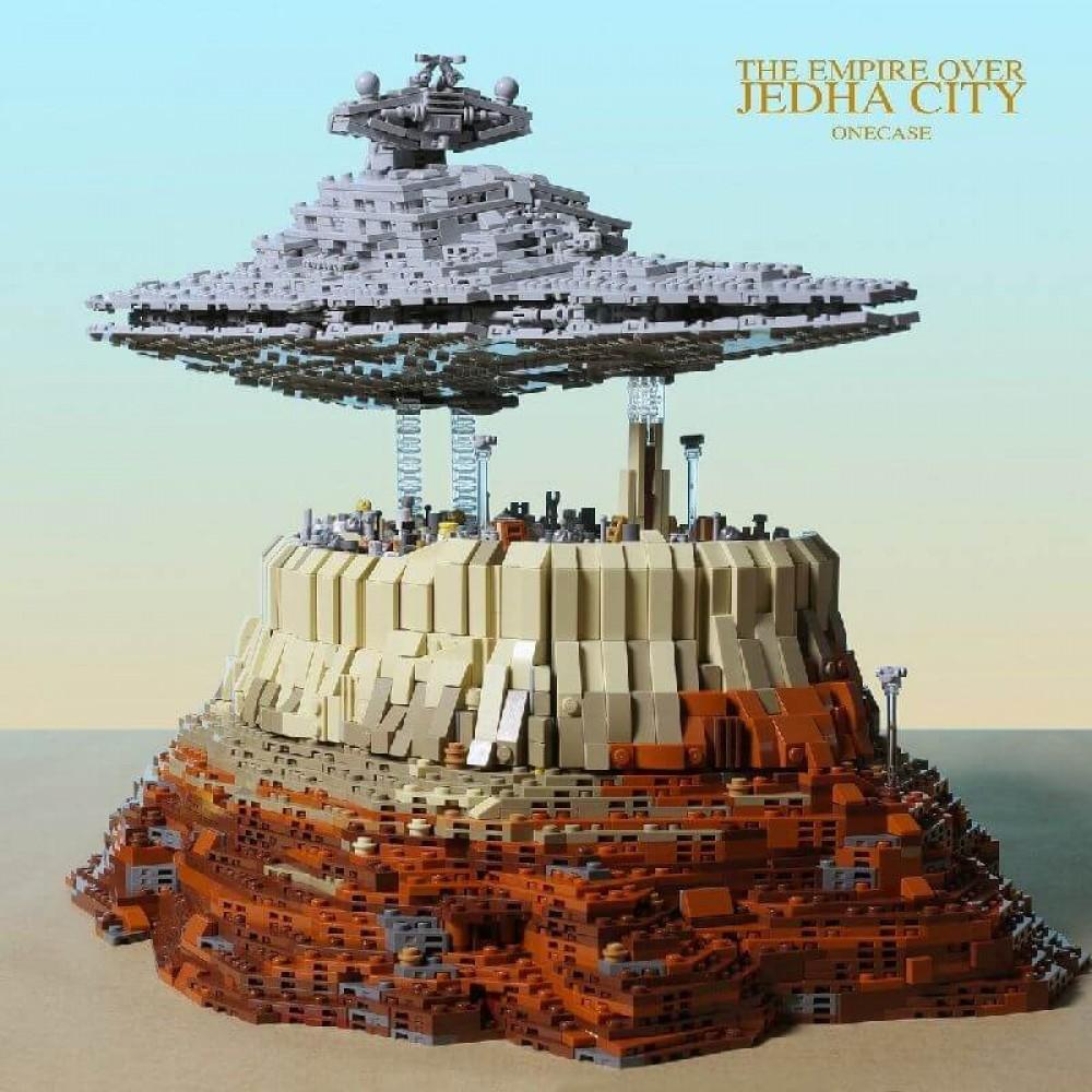 Конструктор Star Wars Имперский звёздный разрушитель над городом Джеда