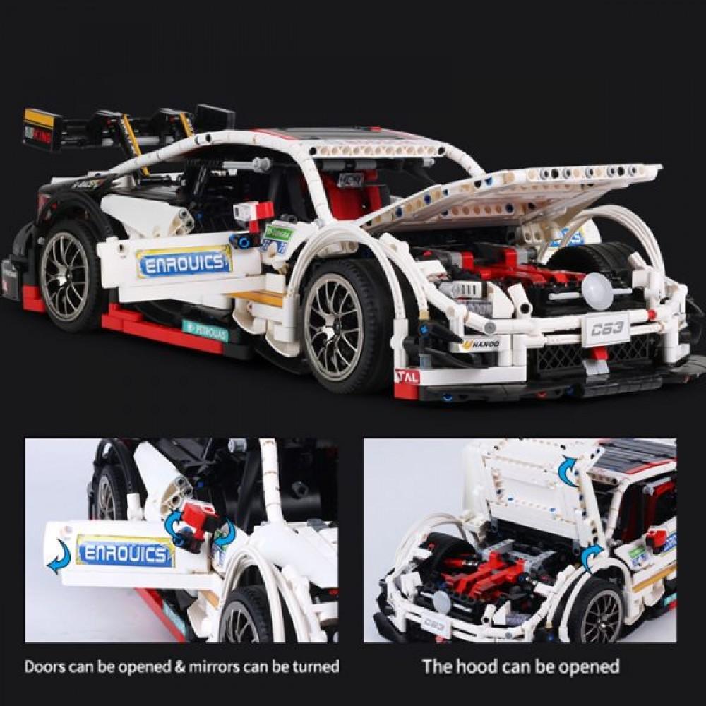 Спортивный автомобиль «Mercedes Benz C63», конструктор Mould King без радиоуправления