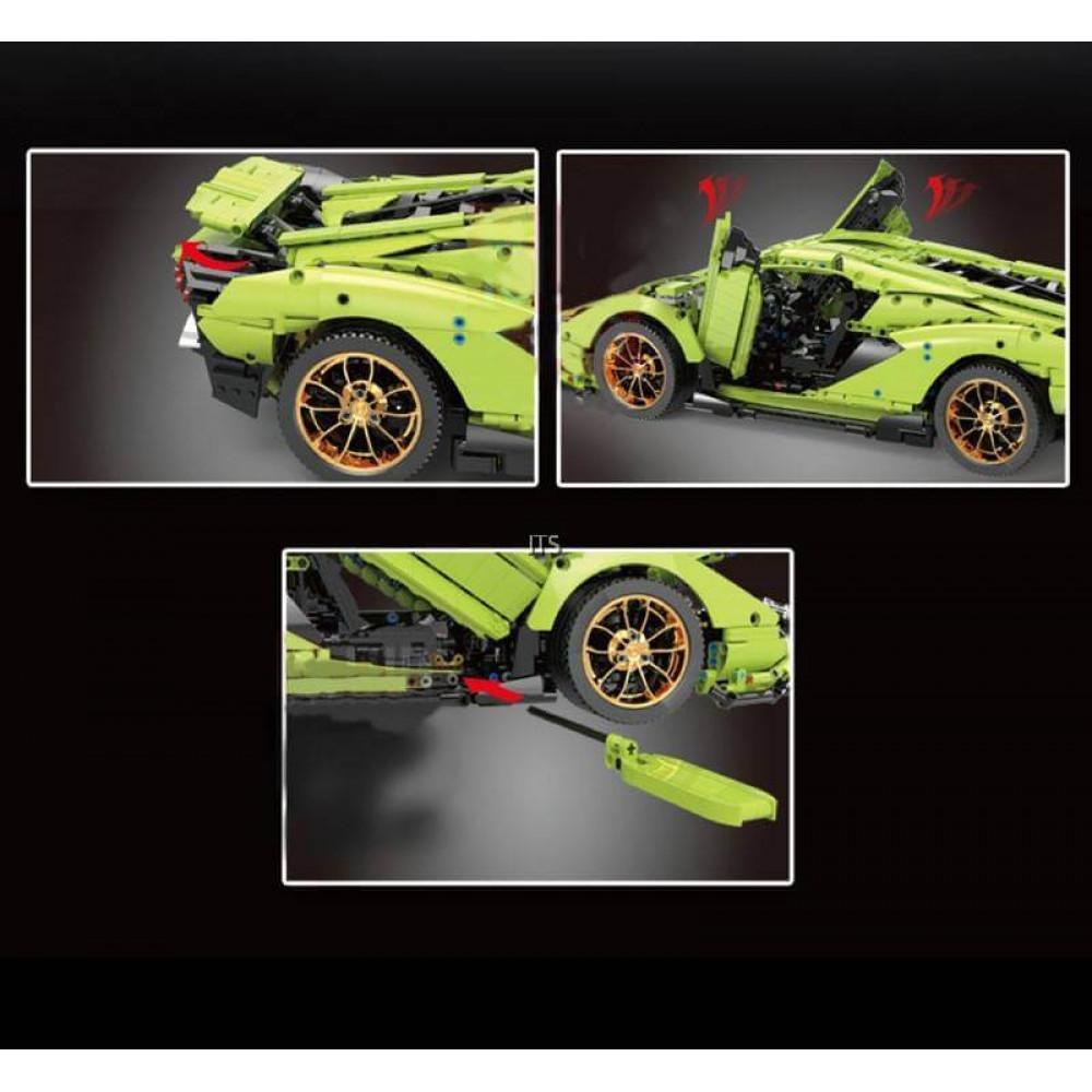 Спортивный автомобиль «Lamborghini Sian Hyper FKP 37», конструктор Mould King на радиоуправлении