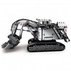 Экскаватор  «Liebherr – Terex RH400», конструктор Mould King на радиоуправлении