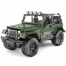 Внедорожник «Jeep Wrangler», конструктор Mould King на радиоуправлении