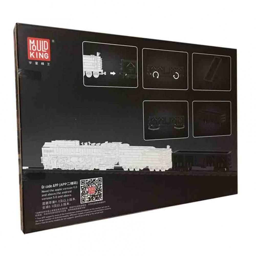 Полувагон для паровоза QJ «Прогресс» конструктор Mould King на радиоуправлении