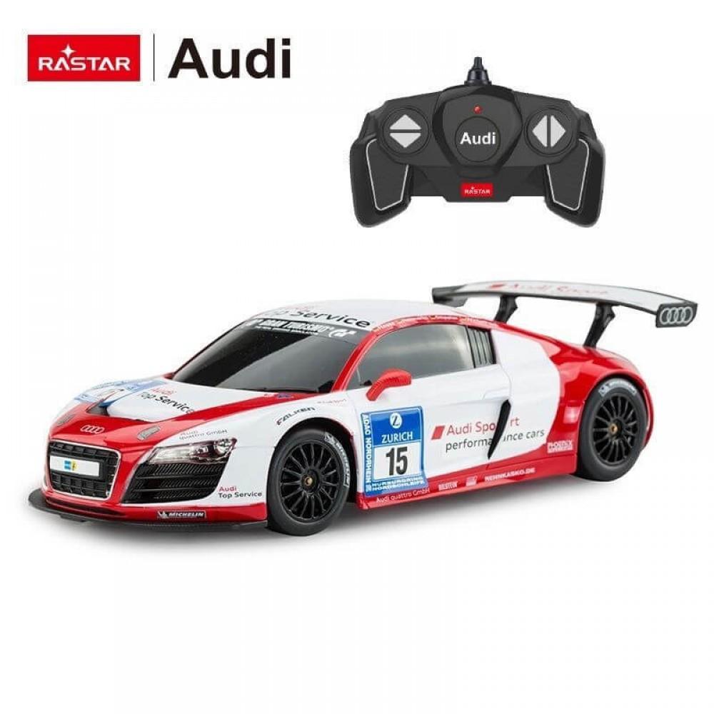 Машинка на радиоуправлении Audi R8 LMS Rastar