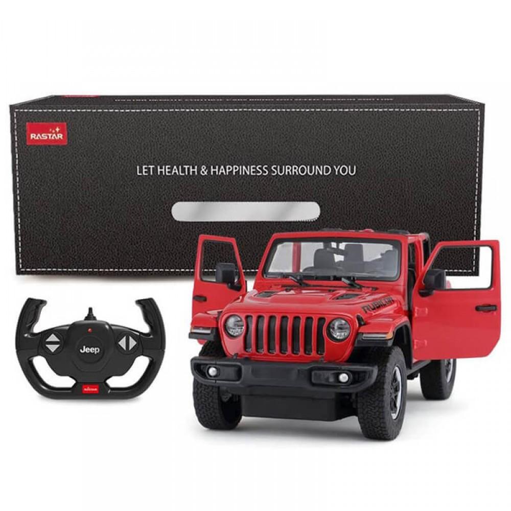 Машинка на радиоуправлении Jeep Wrangler Rubicon
