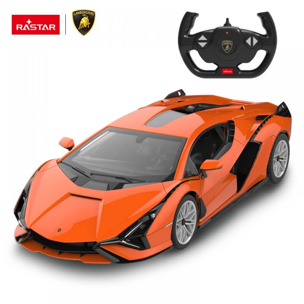 Машинка на радиоуправлении Lamborghini Sian FKP 37