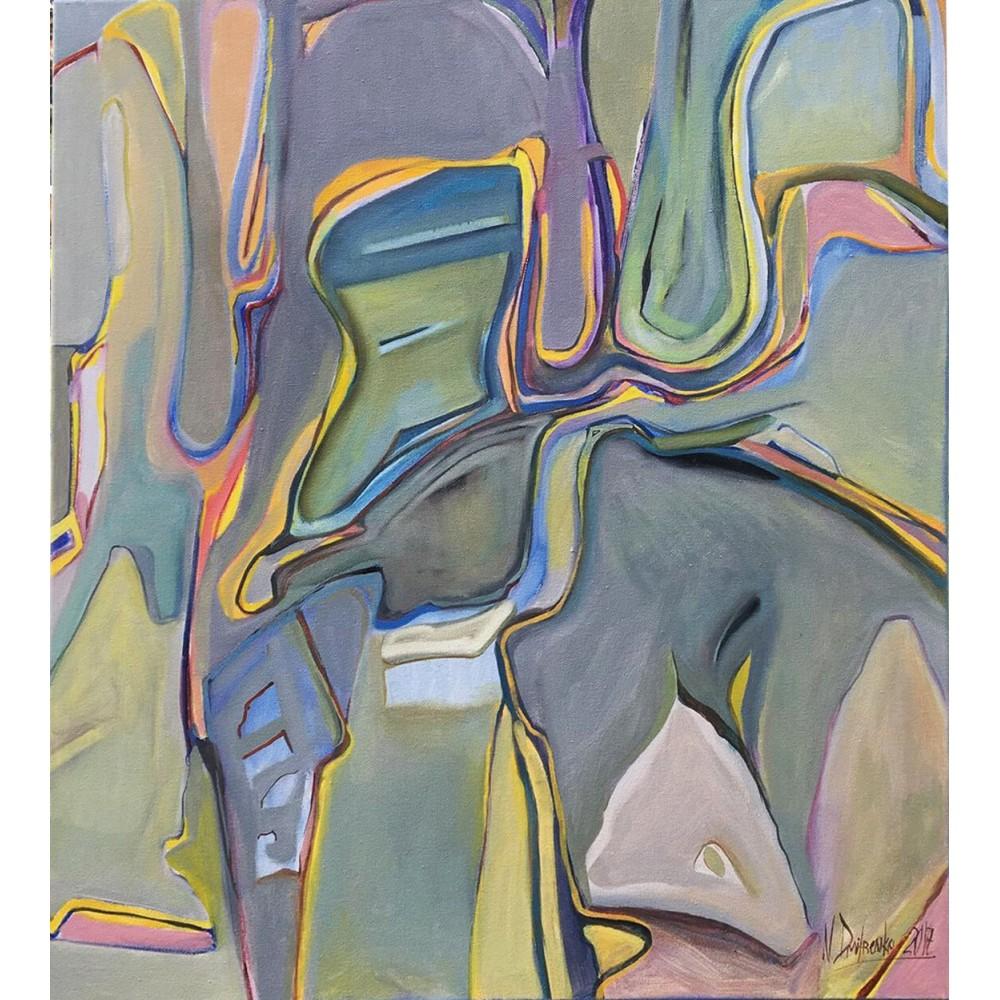 """Купить картину маслом """"Mariana Trench"""" 75x65"""