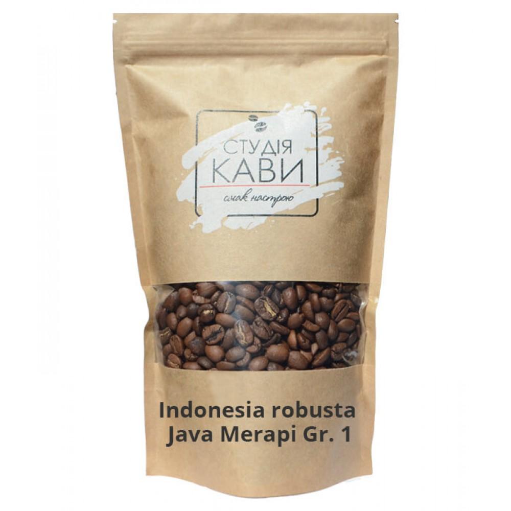 Кофе в зернах Indonesia robusta Java Merapi Gr. 1